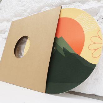 Personalized Classic Glazed Turntable Slipmat