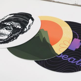 Personalized Fat Turntable Slipmat