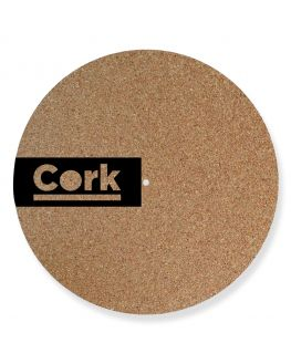 Personalized Cork Turntable Slipmat