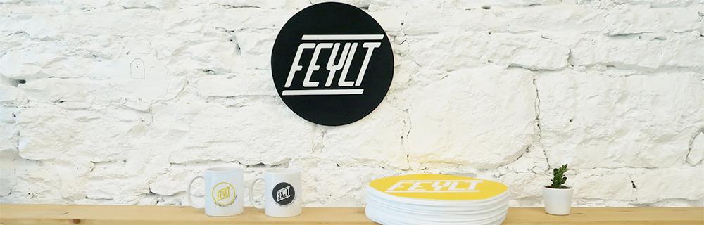 Custom slipmat and mug - FEYLT