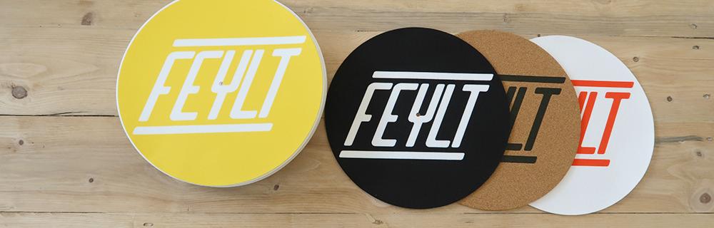 FEYLT - Personalized vinyl slipmat
